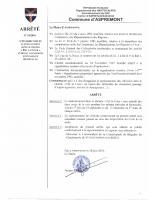 Stationnement interdit Ch. Pré la Cour pendant les saisons d'été et d'hiver