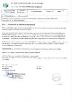 Délib. : Approbation du compte de gestion 2020