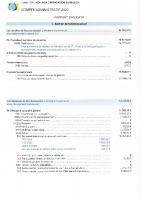 RAPP0RT du Ccompte Administratif 2020