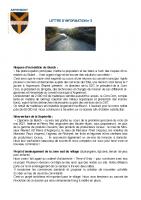 Lettre d'info n°2 (Avril 2021)